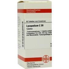 LYCOPODIUM C30 80St Tabletten PZN:4225463