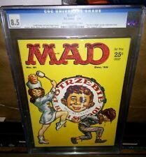 Mad #51 Graded CGC 8.5 VF+ Magazine Alfred E Neuman Dec 1959 (12/59) EC Comics