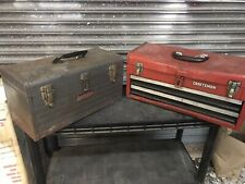 Vintage Craftsman Vintage Tool Box Logo 1950's And 1970 Box