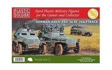 PLASTIC Soldier società NUOVO CON SCATOLA 1 / 72nd 250 alte HALFTRACK ww2v20022