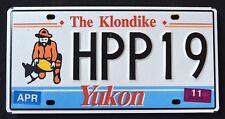 "CANADA "" YUKON -  KLONDIKE - GOLD PANNER - HPP19 "" CAN Graphic License Plate"
