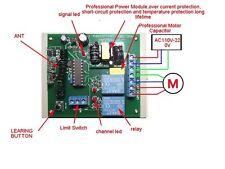 AC110C-220V motor forward & backward controller RF Remote Control Switch 3 wires