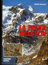 La fauna delle Alpi.