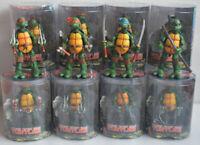 4PCS 5'' NECA TMNT Teenage Mutant Ninja Turtles Red Action Figures Toys Art Box