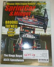 Sprint Car & Midget Magazine Brooke Tatnell & Kings Royal September 2005 020915R