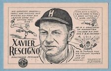 1947 Signal Gasoline PCL Xavier Rescigno Hollywood Stars Pacific Coast League