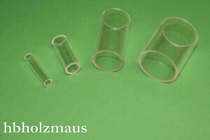 PLEXIGLAS® XT das Original Markenacrylglas ROHR Farblos klar in 1000 mm Länge