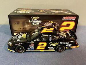 XRARE 1:24 Rusty Wallace #2 MILLER GENUINE DRAFT / RETRO 2005 NASCAR Dodge ARC