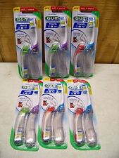 GUM Foldable Travel Toothbrush Lot of 12 Toothbrushes #153 Soft