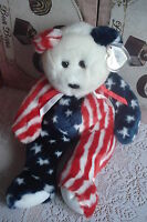 """SPANGLE TY 13"""" BUDDY The Beanie Beanies 1999 Birthday Christmas Gift NEW TOY"""