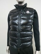 Recent Moncler Ghany Gilet Black puffer pure goose down vest Size 1