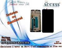 ECRAN LCD & VITRE TACTILE AVEC CHASSIS ASUS POUR ZENFONE MAX M2 ZB632KL X01AD