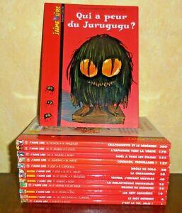 Lot Jeunesse 13 Livres J'AIME LIRE Bayard Poche 6-10 ans