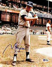 Dodgers Maury Wills Authentic Signed 8x10 Photo Autographed BAS