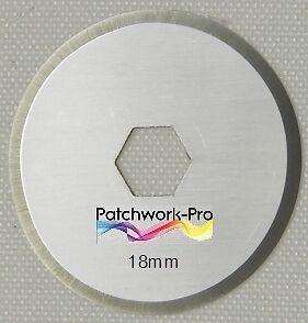 3x Ersatzklingen 18mm für Rollschneider Rollmesser Rotary Patchwork Quilt 181
