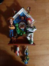 Disney Pixar Toy Story Hand-Painted Sculptural Cuckoo Clock Bradford Exchange