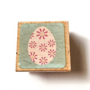 Hampton Art 2009 Flowers Wood Mounted Rubber Stamp Craft Scrapbooking Letters