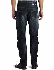 G-Star ARC Loose Tapered Unwashed Denim Jeans in Dark Blue Size W28 L30 *VGC*