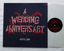 "A WEDDING ANNIVERSARY Asylum ORIG 12"" EP DANCETERIA Cold Wave -NEW!!!"