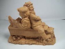 "Artist Stock 1992 Tom Clark Gnome Super Chief Train 6"" Cairn Unpainted #5191"