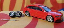 Silver 1/64 CE28 Rubber Wheels 10 Spoke Real Riders HotWheels Matchbox Audi Ford