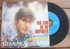 "GIANNI MORANDI Ma Chi Se Ne Importa / Isabelle (1969) Vinyl 7"" 45 RPM – PM 3505"