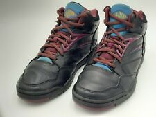 Htf Vintage 1992 Women's La Gear Sneaker Size 9 Hi Top Black cool colors