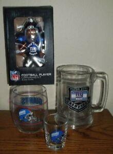 New York/NY Giants Super Bowl XLII Mug/Glass/Ornament/Shot Glass NFL Football