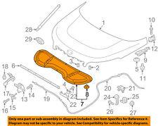 KIA OEM 14-16 Soul Hood-Insulation Pad Liner Heat Shield 81124B2000