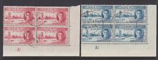 ADEN 1946 VICTORY PLATE A1 PAIR SG 28-29 FINE USED.