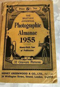 THE BRITISH JOURNAL PHOTOGRAPHIC ALMANAC 1955 HARDBACK