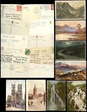 GB PPCs c1907-1955 NAMED ARTISTS...11 CARDS