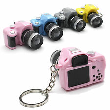 CHIC Cute Mini Toy Camera Charm Keychain With Flash Light&Sound Effect Gift