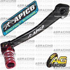 Apico Negro Rojo Gear Pedal Palanca De Cambios Para Honda Crf 50 2006 Motox Pit Bike