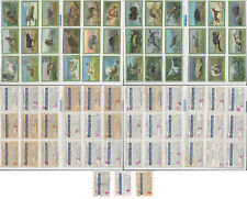 Tobacco Card Lot of 39, Germany Animals, Chlorodont Sammelbilder, Weize