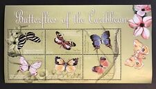 GRENADA BUTTERFLY STAMPS SHEET 2000 MNH BUTTERFLIES OF THE CARIBBEAN INSECT MOTH