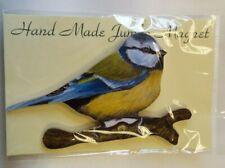 Bird Magnet Lark Rise Hand Made Wood Jumbo Fridge Magnet Lovely Gift