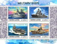 Sierra Leone Military Ships Stamps 2017 MNH USS San Antonio FNS Hanko 82 4v M/S