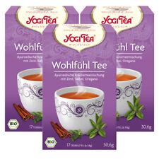 Yogitea Bio serviette thé, 3er Pack
