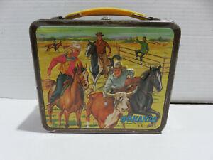 BONANZA Vintage Aladdin Metal Lunchbox