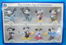 Disney MICKY MAUS mouse Monogram The Golden Age of Animation 8 Figuren MiB OVP