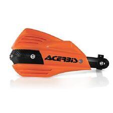Acerbis X-Factor Hand Guards Handlebar Motorcycle Dirt Bike Orange/Black