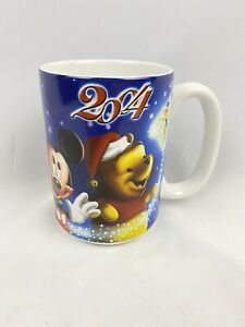 Disney Store Exclusive Authentic Mug Cup 2004 Winnie The Pooh Mickey & Others