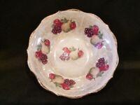 Vintage - Lusterware Fruit Bowl with Gold Trim