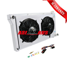 3Row Radiator+Shroud+Fan For 67 68-72 Chevy C/K Series C10/C20/K10/K20 At+Relay
