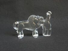 "Kosta Boda Glass  Zoo Circus Series  "" Lion Tamer """
