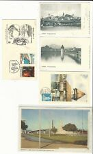 Worldwide: Lot of 7 different postal cards and covers new and used...WO238