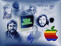 Steve Wozniak SIGNED 11x14 RARE PHOTO APPLE COMPUTER AUTOGRAPHED Co Founder