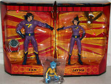 Superfriends Action Figure Lights Interactive Zan Jayna Superfriend Monkey Xmas