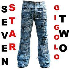 SEVEN Star Gigolo Two Biker Cut VIP Jeans G 27/32